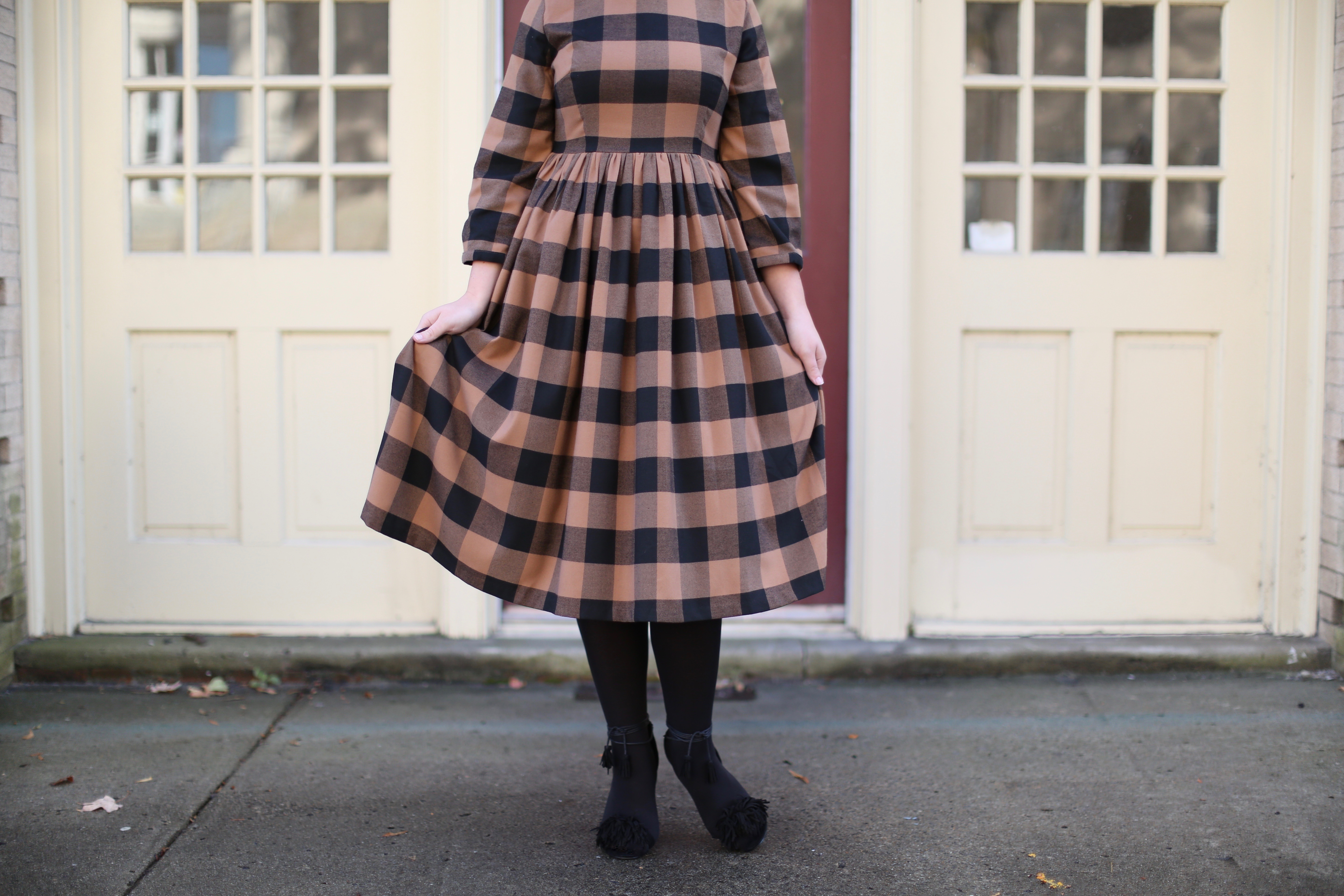 A Picture-Perfect Winter Dress