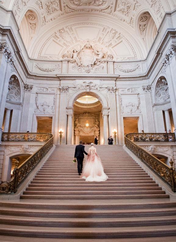 Wedding Venues | San Francisco City Hall | She's Intentional: The Dainty Jewell's Blog