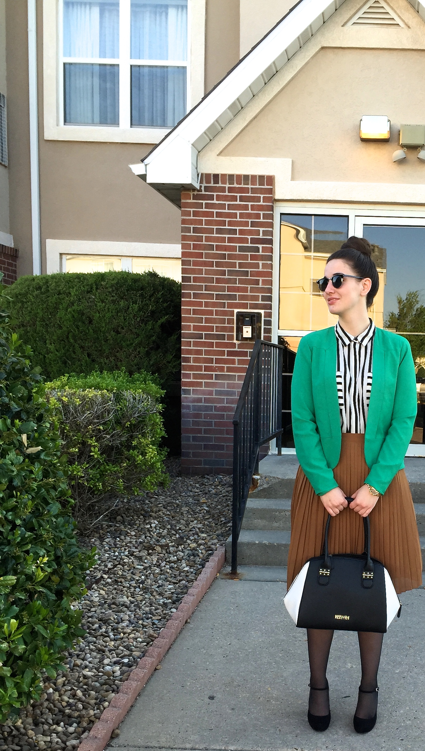 Kelly Green & Color Blocking