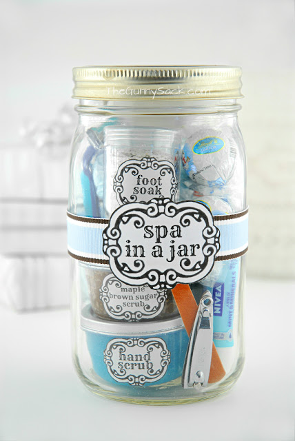 Spa In A Jar | DIY Gifts